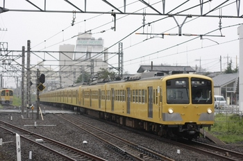 2009年7月23日、所沢、281F+1309Fの5607レ。