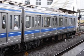 2009年7月14日、所沢、クハ6003を連結面側から撮影。