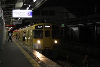 2009年7月30日、西所沢、2517Fの6209レ。