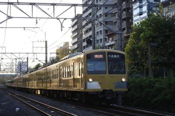 2009年8月4日、高田馬場~下落合、1249F+277F+1251Fの2812レ。