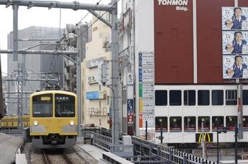 2009年8月19日、高田馬場、クモハ295ほかの2754レ。