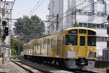 2009年8月20日、高田馬場~下落合、2047Fほかの3309レ。