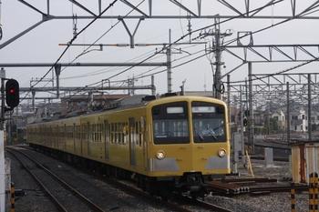 2009年8月21日 6時42分頃、所沢、N101系4連の上り回送列車。