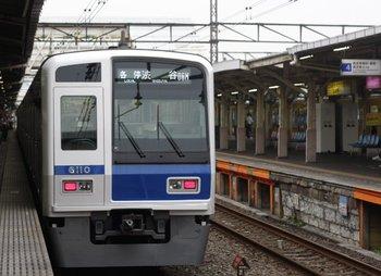 2009年8月19日、所沢、6706レの6110F。