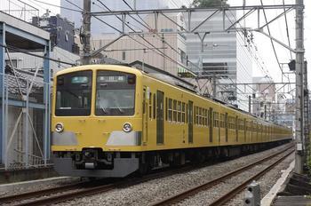 2009年9月9日、高田馬場~下落合、1309F+281Fの4621レ。