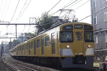 2009年9月7日、池袋~椎名町、西武秩父ゆき4801レの2451F+2075F。