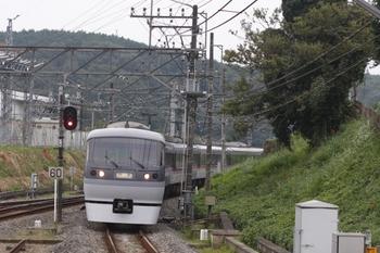 2009年9月21日 14時23分ころ、高麗、飯能方から到着する10108Fの回送列車。折り返しむさし92号。