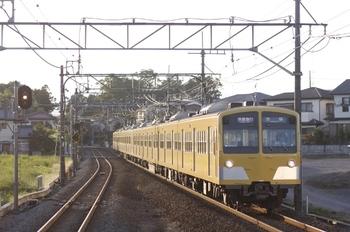 2009年9月20日、元加治、通過する1106レの(<-池袋)1241F+1239F。
