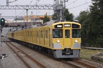 2009年9月27日 15時29分頃、武蔵藤沢、2063Fの上り回送列車。