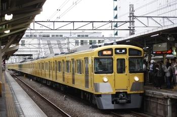 2009年9月28日、所沢、2063F+2465Fの2104レ。