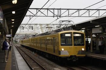 2009年9月28日 6時21分頃、所沢、281F+1249Fの上り回送列車。