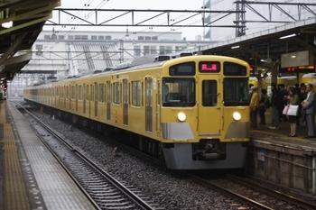 2009年10月2日 6時19分頃、所沢、2071Fの上り回送列車。