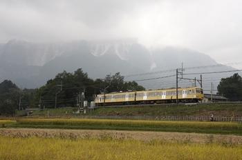 2009年10月4日 10時42分頃、横瀬~西武秩父、271Fの下り臨時列車。