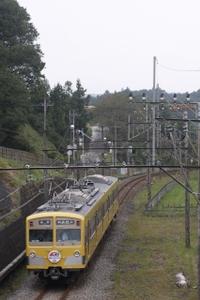 2009年10月4日 11時38分頃、芦ヶ久保~横瀬、271Fの上り回送列車