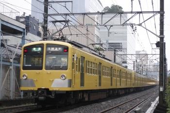 2009年10月7日、高田馬場~下落合、4251レの285F+1309F。