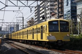 2009年10月15日、高田馬場~下落合、1253F+1251F+281Fの3308レ。