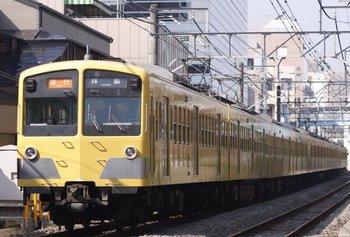 2009年10月18日、高田馬場~下落合、1253F+1251F+281F。