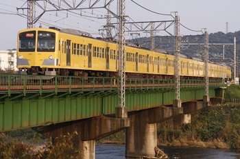 2009年10月18日、仏子~元加治、1301Fの2141レ。