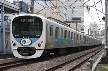 2009年10月22日、高田馬場~下落合、5029レの38101F。
