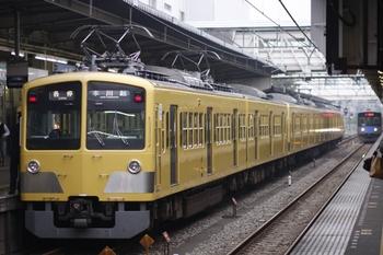 2009年10月24日、所沢、5709レの295F+1249Fと到着する20106Fの2660レ。