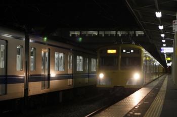 2009年10月27日、仏子、2165レの271F+1301F。