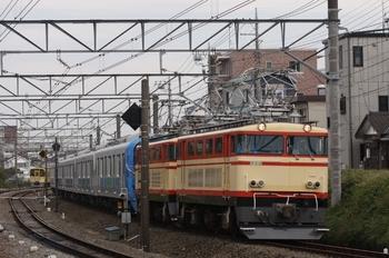 2009年11月1日、新秋津~所沢、E34+E31+38106Fの貨物列車。