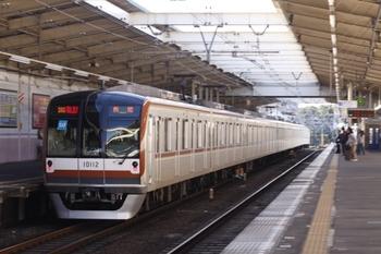 2009年11月3日、秋津、メトロ10012Fの2135レ。
