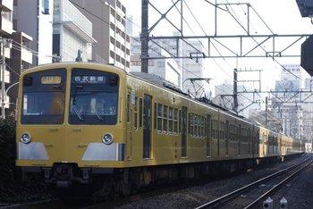 2009年11月6日、高田馬場~下落合、285F+1309Fの2752レ。