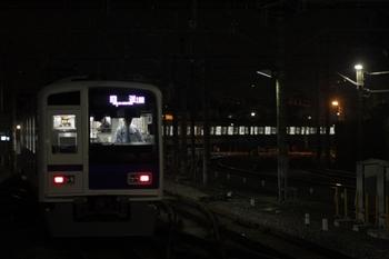 2009年11月10日 17時38分、所沢、4776レ運転打ち切りで上り方へ回送で発車した6153F。