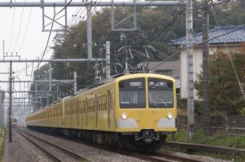 2009年11月10日、東久留米~清瀬、287F+1303Fの1107レ。