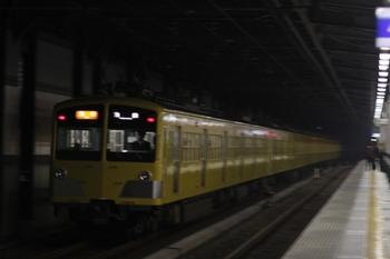 2009年11月11日、練馬、急行線を通過する2166レの287F+1303F。