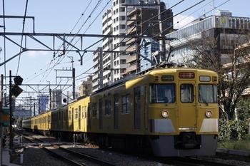2009年11月18日、高田馬場~下落合、2419F+2059Fの3308レ。