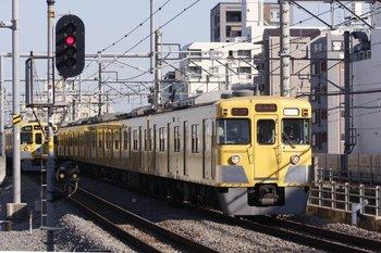 2009年11月23日、練馬、5469レ(各停 豊島園ゆき)で到着する2005F。