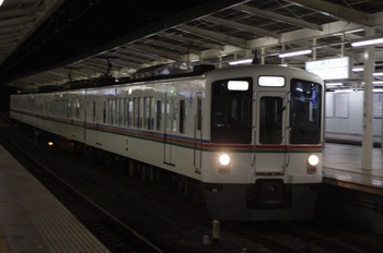 2009年11月26日 21時16分頃、入間市、4001Fの下り回送列車。