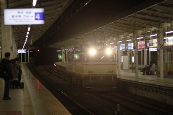 2009年11月29日 17時49分頃、入間市、通過するE34+E31の下り回送列車。