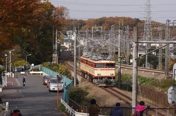 2009年11月29日 10時58分頃、新秋津~所沢、新秋津駅へ向かうE31+E34。