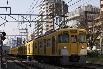 2009年11月26日、高田馬場~下落合、2413F+2085Fの3308レ。