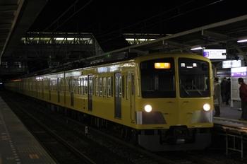 2009年12月4日 5時54分ころ、所沢、1309F+281Fの急行 田無ゆき。