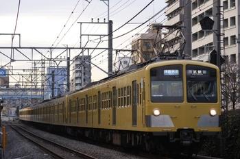 2009年12月15日、高田馬場~下落合、3322レの281F+1311F。
