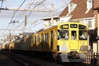 2009年12月22日、池袋~椎名町、2063F+2461Fの通勤急行 池袋ゆき(2504レ)。