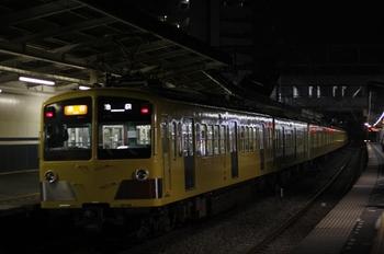 2009年12月24日20時38分頃、西所沢、5分ほど遅れていた2178レの(<-飯能)287F+1303F