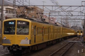 2009年12月27日、秋津、3304レの275F+1303F。