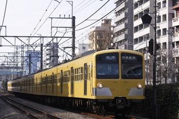 2009年12月27日、高田馬場~下落合、5816レの1253F+1251F。