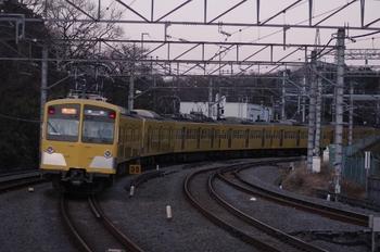 2009年12月29日、入間市、275F+1303Fの2152レ。