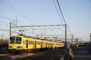 2009年12月29日、秋津~所沢、275F+1303Fの4225レ。