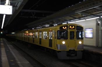 2009年12月29日、西武柳沢、2077Fの5351レ。