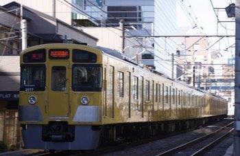 2010年1月1日、高田馬場~下落合、2077Fの2103レ。