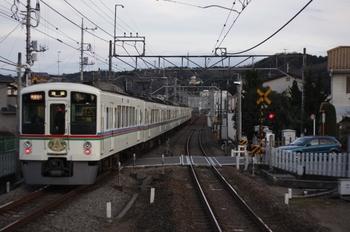 2010年1月3日、元加治、通過した4023F+4011Fの1002レ。