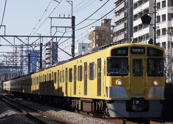 2010年1月6日、高田馬場~下落合、2529F+2011Fの4624レ。