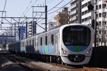 2010年1月10日、高田馬場~下落合、38106Fの3308レ。